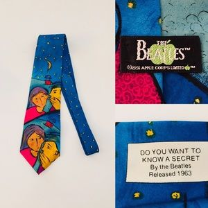 Vintage 1991 Beatles Silk Tie